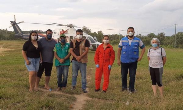 Primeira indígena do país com Coronavírus mora em aldeia de Santo Antônio do Içá (AM)