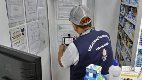 Rondas de vigilância sanitária iniciam em mais de 60 bairros de Manaus