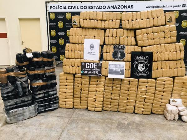 Wilson e Moro destacam apreensão de 800 kg de maconha, em Maraã