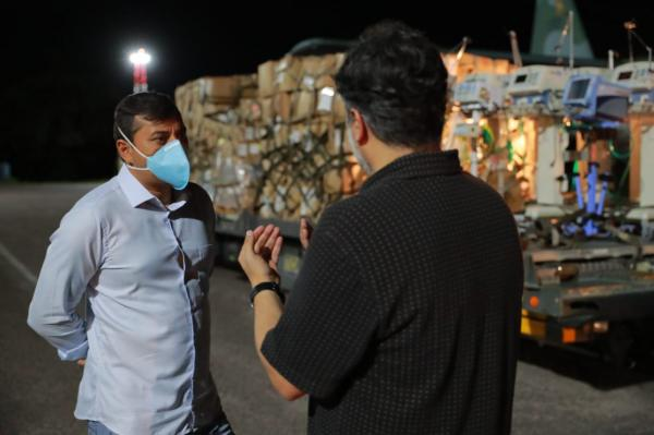 Hospital Delphina Aziz recebe 15 respiradores de UTI enviados pelo Ministério da Saúde