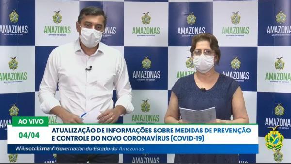 51 casos somente hoje (04), em Manaus; AM tem 311 infectados por covid-19