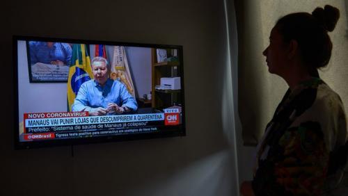 'Sistema de saúde em Manaus já colapsou', diz Arthur Neto, em entrevista à CNN