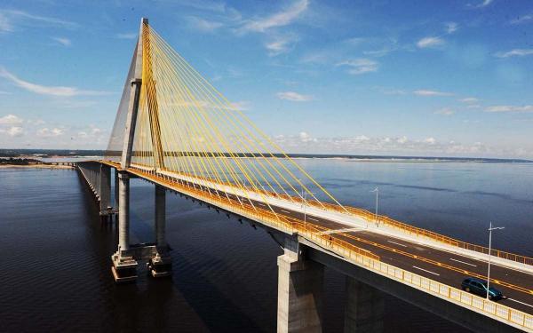 Transporte de passageiros na ponte Rio Negro está proibido por 15 dias