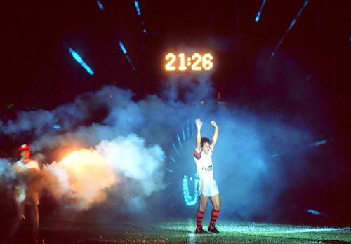 Há 30 anos, Zico se despedia do Maracanã num duelo do Fla com combinado de craques