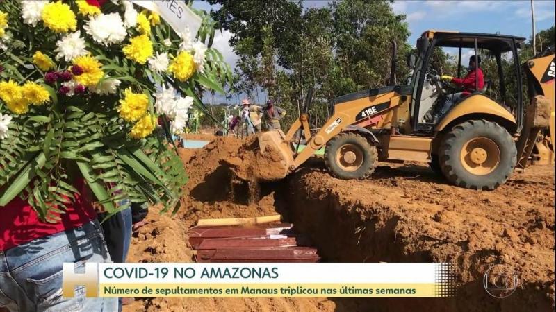 5.017 mortes por coronavírus no Brasil, que já supera a China