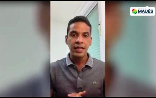 Prefeito de Maués anuncia reajuste de 12,84% no salário dos professores
