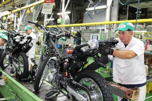 Moto Honda retoma as atividades produtivas, mas com protocolos rigorosos de saúde e segurança