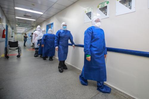 Médicos do 'Brasil Conta Comigo' começam a atuar no Hospital e Pronto-Socorro Platão Araújo