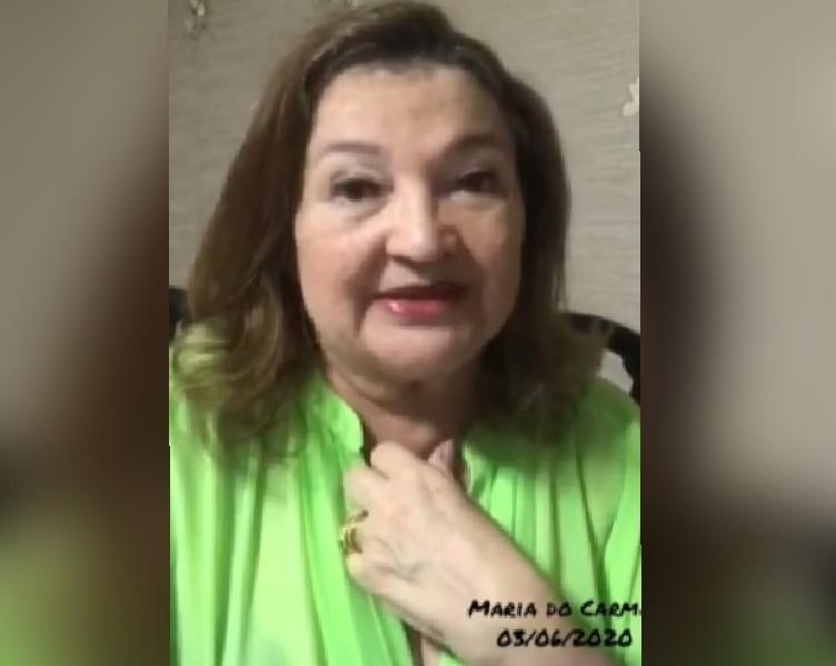 Em vídeo, Maria do Carmo pede atendimento para moradores da área rural de Santarém