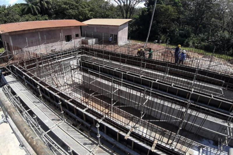 Quase 50% da obra do sistema de água de Santarém já está concluída