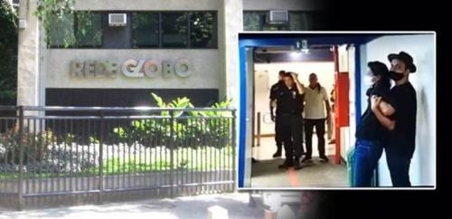 Homem invade sede da TV Globo, faz repórter refém e é preso