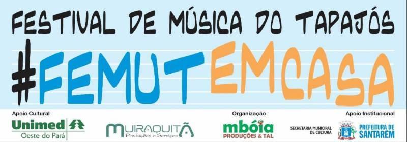 Inscrições para o Festival de Música do Tapajós 'Em Casa' encerra hoje (18)