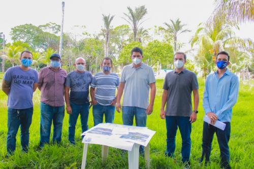 CAPS para dependentes químicos começa a ser construído, em Parintins