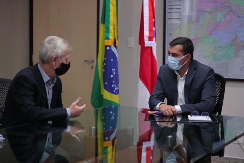 Wilson Lima discute modelo ZFM e projetos conjuntos em reunião com novo superintendente da Suframa