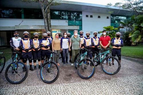 Espaços públicos de Manaus terão patrulha da guarda municipal em bicicletas