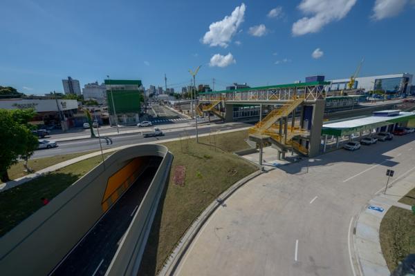 Saiba como vai funcionar a nova estação de transferência da Constantino Nery, em Manaus