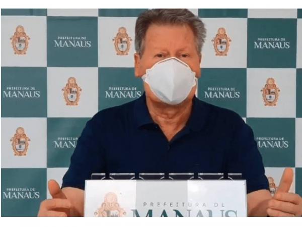 Prefeito de Manaus é internado com covid-19 no hospital Adventista