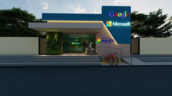Maués ganha Centro de Robótica da Microsoft e Google e Liceu de Artes, no seus 187 anos
