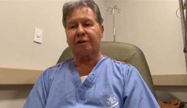 Internado com Covid-19, em SP, prefeito de Manaus usa cateter de oxigênio