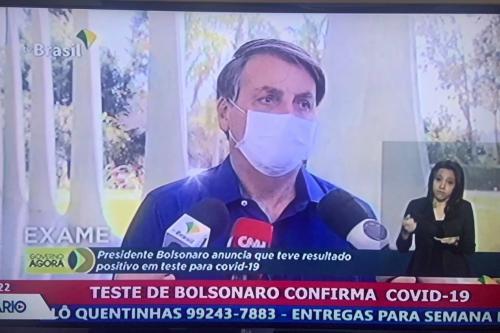 De covid Bolsonaro mente sobre cloroquina; agências checaram declarações