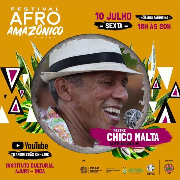 Festival Afro Amazônico tem agenda virtual de dança, música e festivais