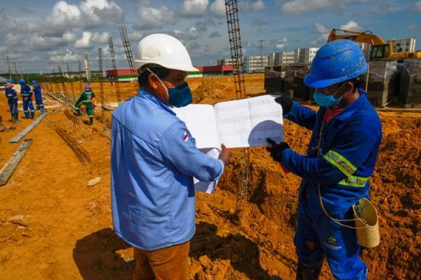 Começa obra do novo Terminal 6 no Lago Azul, em Manaus