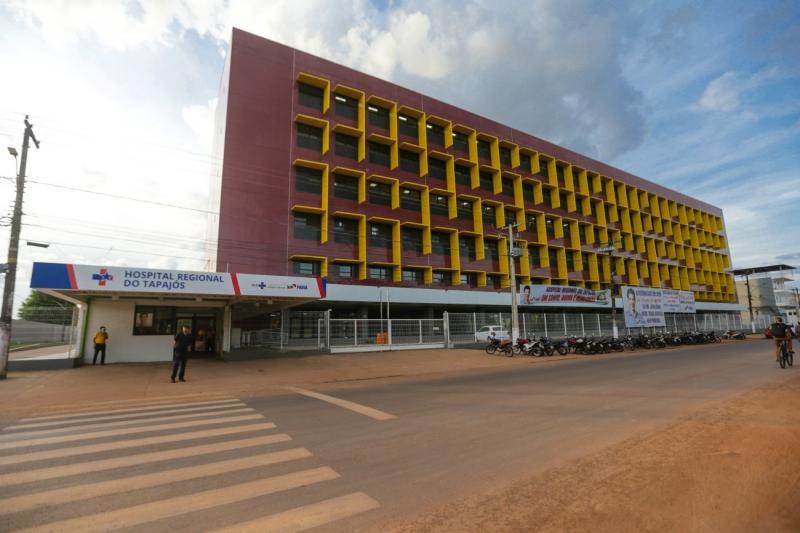 Governo do Pará entrega Hospital Regional do Tapajós, em Itaituba, com 164 leitos