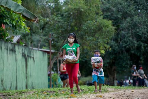 Prefeitura de Manaus finaliza entrega dos kits nas escolas da rede municipal