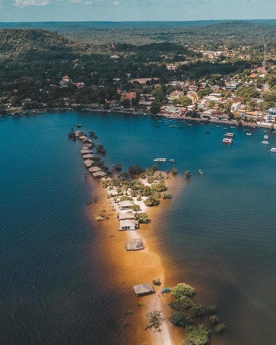 Ministério do Turismo exalta as belezas das praias de Alter do Chão