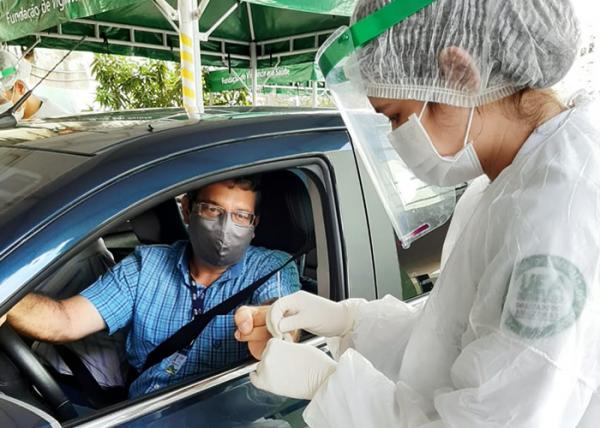 FVS-AM encerra na sexta, (31), testagens na UEA, para detecção da Covid-19