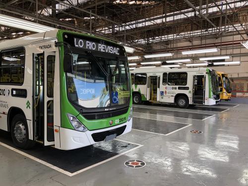 300 novos ônibus para o transporte público de Manaus são fabricados no RJ
