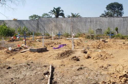 MP/AM pede que Justiça obrigue prefeito de Nova Olinda a interditar cemitério em área alagadiça