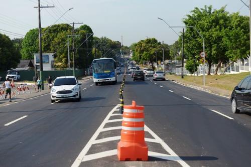 Prefeitura de Manaus implementa sentido único na avenida São Jorge