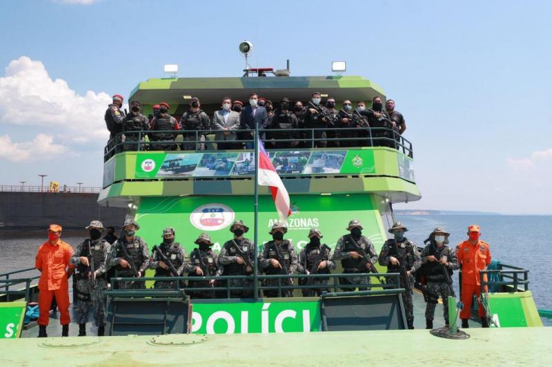 Após Base Arpão, Wilson Lima anuncia ampliação de frota de lanchas blindadas