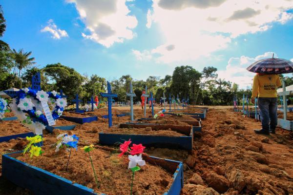 Mortes de abril elevam dados gerais de óbitos por Covid-19, no Amazonas