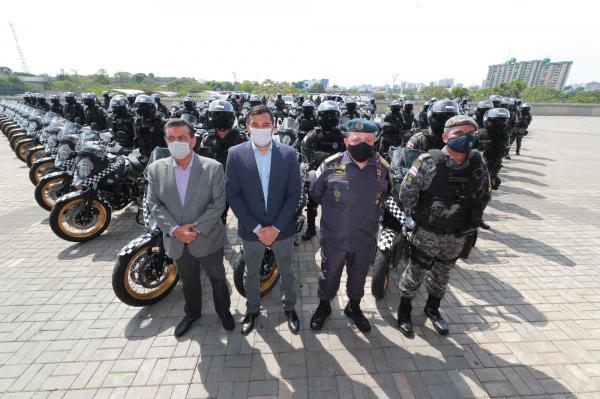 Wilson lança 'Rocam Motos' e anuncia mais investimentos em Segurança Pública