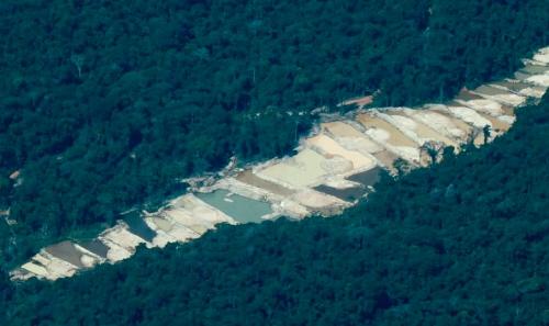 Terras indígenas Munduruku no rio Tapajós são devastadas por garimpo ilegal