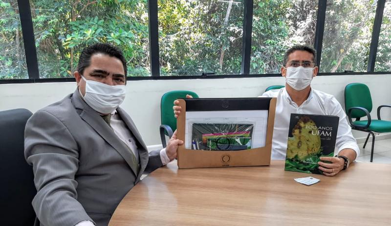 David Almeida propõe criação de parque no entorno da floresta da Ufam