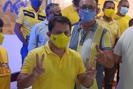 Com Rosivaldo, na vice, Ney Santana é candidato a prefeito de Santarém