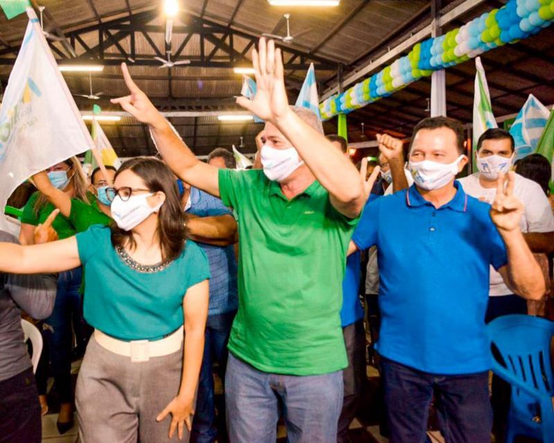 DEM homologa candidatura de Nélio Aguiar a reeleição, com apoio de 11 partidos