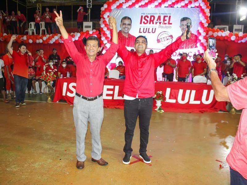 Em convenção, Israel Paulain homologa disputa pela prefeitura de Nhamundá