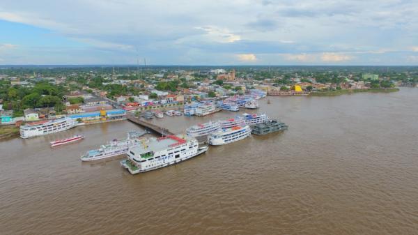 Marinha autoriza reabertura do porto de Parintins