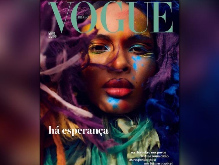 Paraense, que vendia chip nas ruas de Belém, está na capa da Vogue