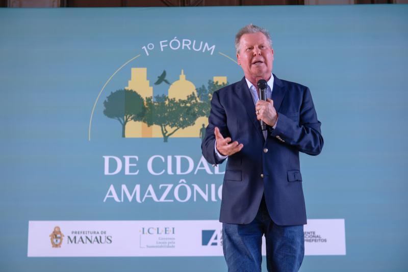 Arthur defende biodiversidade para desenvolvimento sustentável de cidades pan-amazônicas