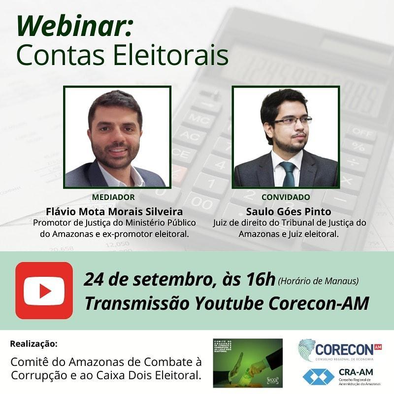 Comitê realiza palestra gratuita sobre contas eleitorais