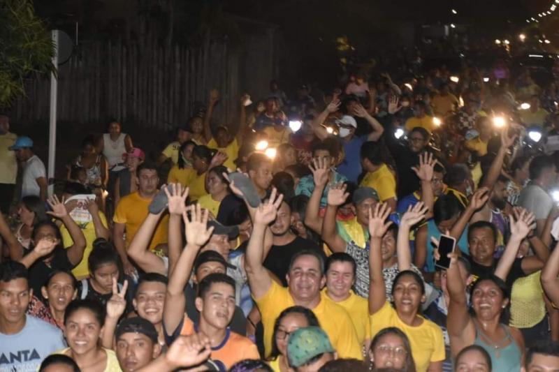 Após criticas de aglomeração, prefeito de Terra Santa mostra boletim zerado de covid-19