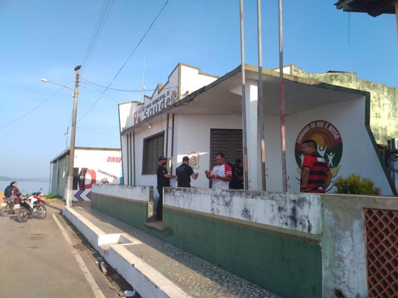 MPPA faz operação na Prefeitura de Faro e arromba prédio da Secretaria Municipal de Saúde