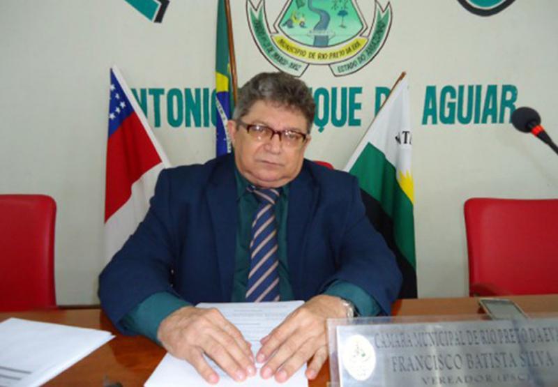 Vereador de Rio Preto da Eva morre de Covid-19, em Manaus