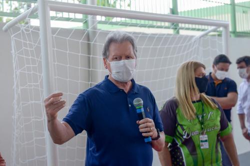 Arthur Neto entrega Centro de Esporte e Lazer Dom Jackson, na Compensa