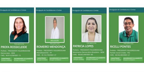 Dez candidatos disputam a prefeitura de Presidente Figueiredo
